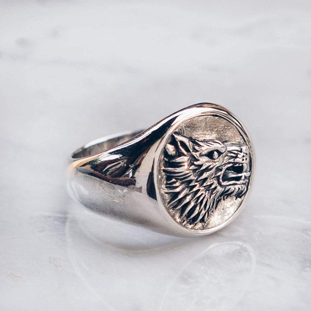 Wolf ring beautiful